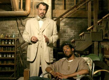Tom Hanks and Marlon Wayans in Touchstone Pictures' The Ladykillers