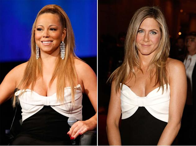 Mariah Carey vs Jennifer Aniston