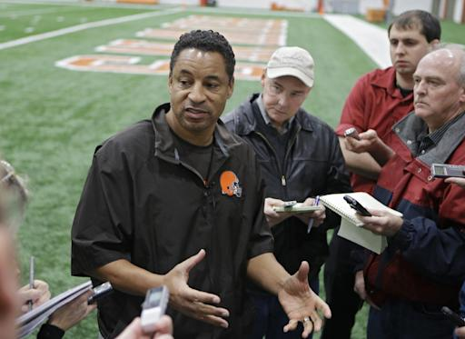 Browns' Horton says players feeling pressure