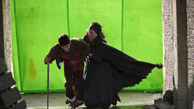 """Merlin"" Behind the Scenes"