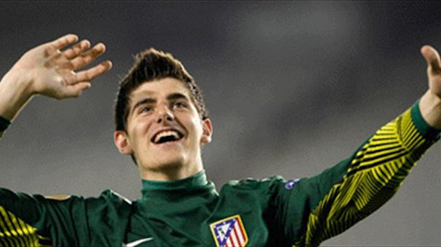 Courtois picks up Zamora Trophy