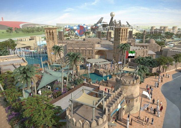 Abu Dhabi's new waterpark, Yas Waterworld, will officially open to the public on January 24th, 2013, officials announced on Monday.