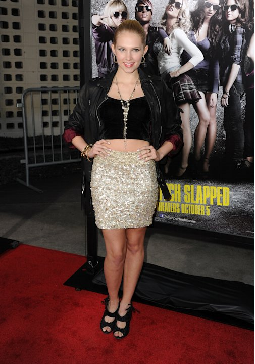 "Premiere Of Universal Pictures And Gold Circle Films' ""Pitch Perfect"" - Red Carpet"