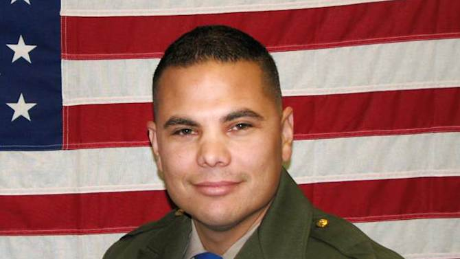 In an undated photo provided by the California Highway Patrol, shows CHP officer Jesus Magdaleno Jr., 33, an 8-year-veteran. The off-duty officer was killed Sunday, Aug. 18, 2013, after he and a friend Brandon Cruz, 31, jumped into the bed of Magdaleno's pickup truck while it was being stolen from the Flamingo hotel while it was being loaded with luggage for the trip home after the officer's bachelor party. Magdaleno, was killed and Cruz, suffered a severe head injury and was in extremely critical condition Monday after both men were thrown from the truck as it crashed. (AP Photo/California Highway Patrol)