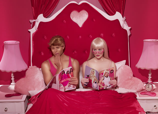 Ken & Barbie in their loveless marriage