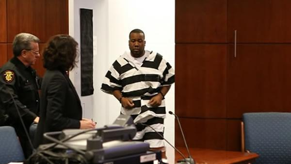 Man accused in girl's murder makes 1st court appearance