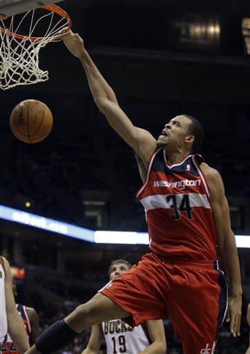 Jennings, Bucks keep Wizards winless, 102-81