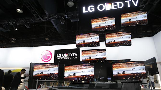 LG kicks off CES with 55-inch 'ultra-HD' TV