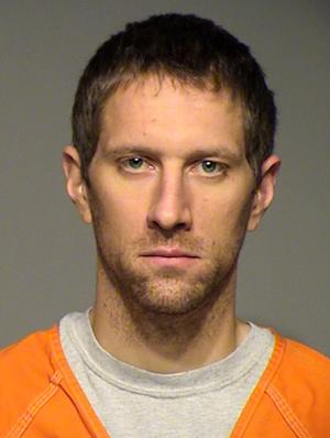 This undated booking photo provided by the Milwaukee County Sheriffís Department shows Ben Sebena, 30, of Menomonee Falls, Wis. Sebena was charged Thursday, Dec. 27, 2012 with first-degree intentional homicide in the shooting death of his wife, Wauwatosa police officer Jennifer Sebena, 30. (AP Phoito/Milwaukee County Sheriffís Department)