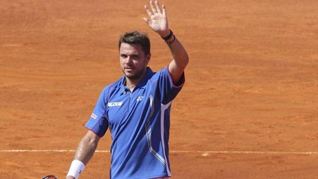 Stanislas Wawrinka wins in Madrid (Imago)
