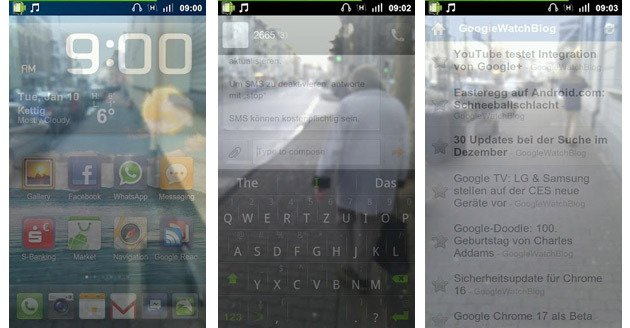 Transparent Screen app saves you from bodily injury while texting