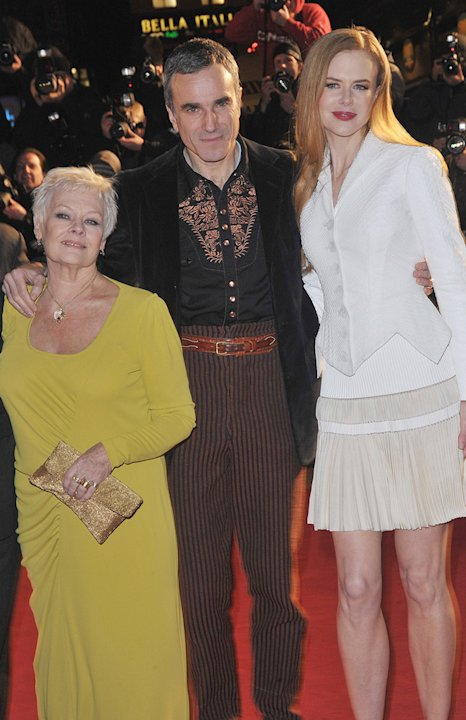 Nine UK Premiere 2009 Judi Dench Daniel Day Lewis Nicole Kidman