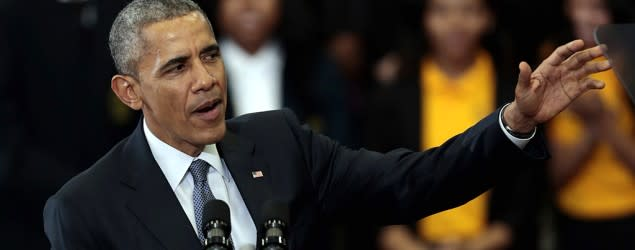 Obama discusses 'The Wire' with show creator