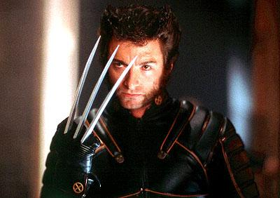 Hugh Jackman as Wolverine in 20th Century Fox's X-Men