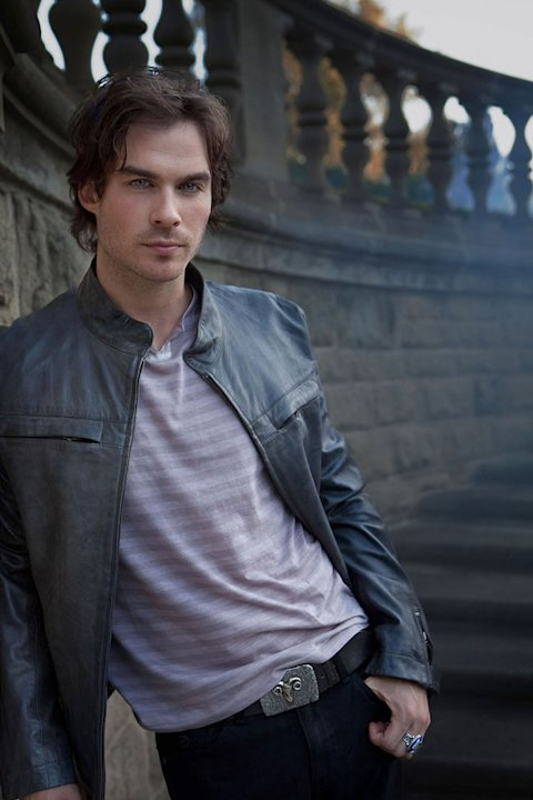 Ian Somerhalder as Damon in the CW series Vampire Diaries