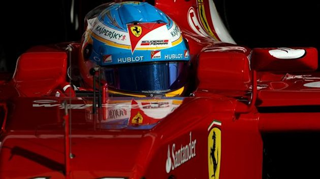 2014 Tests Sakhir Ferrari Alonso
