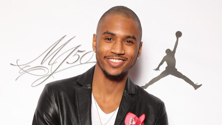 IMAGE DISTRIBUTED FOR JORDAN BRAND - Trey Songz is seen at the Jordan Brand party celebrating Michael Jordan's birthday on Friday, February 15, 2013 in Houston, TX.  The Jordan Brand launched its Air Jordan XX8 in Houston on the same day.  (Photo by Omar Vega/Invision for Jordan Brand/AP Images)