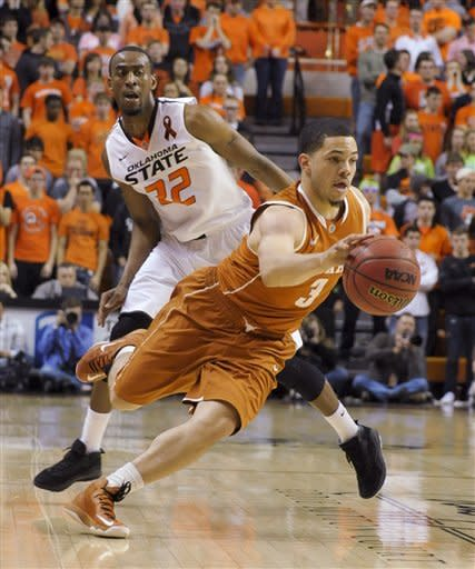 No. 15 Cowboys corral Kabongo, beat Texas 78-65