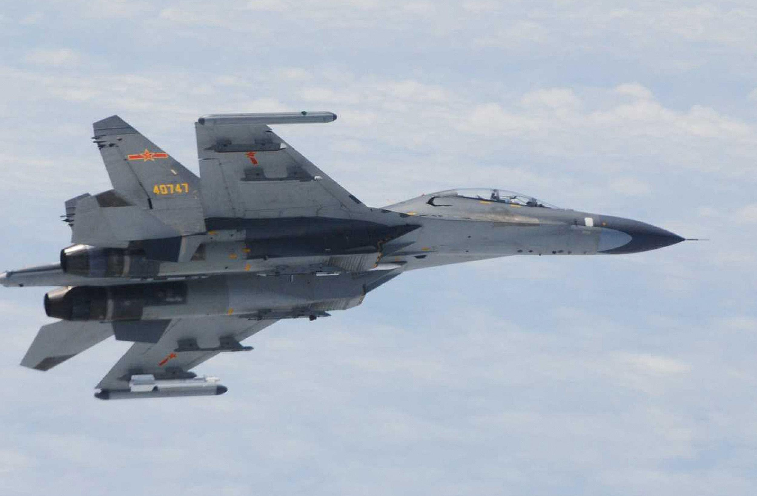 First China air force drills in 'far offshore' Pacific