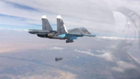 Russian air strikes target western Syria: monitor