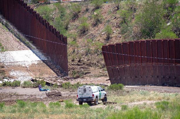 Repairs to downed border fence top $700,000