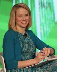 <p>Marissa Mayer of Google speaks at TechCrunch Disrupt NYC 2012 day 3 at Pier 94 in May 2012 in New York City.</p>
