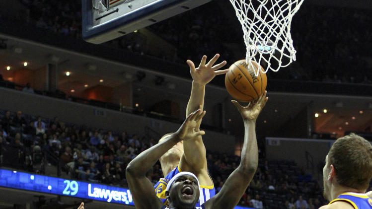 NBA: Golden State Warriors at Memphis Grizzlies