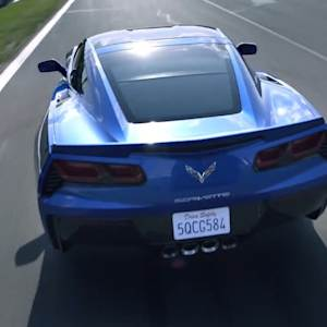 GM BREAKS THE LAW WITH NEW CORVETTE SPY FEATURE