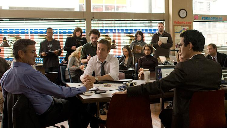 George Clooney and Ryan Gosling in Columbia Pictures' The Ides of March - 2011