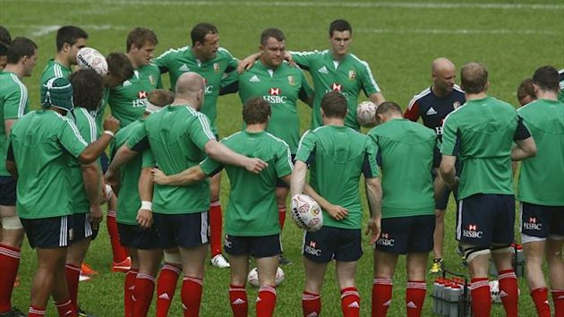 British and Irish Lions players (Reuters)