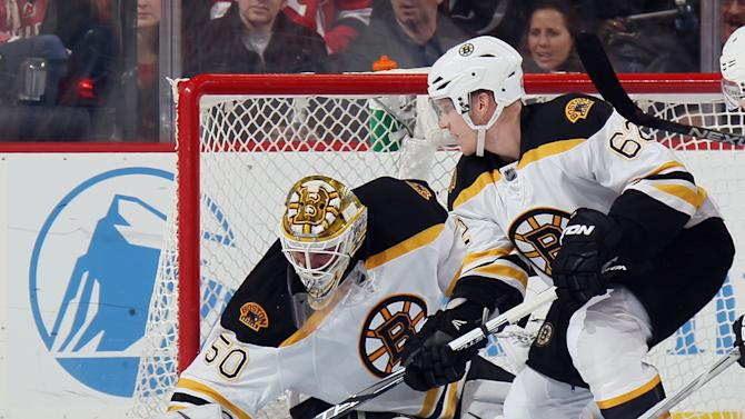 Jonas Gustavsson left Boston's Tuesday game due to 'elevated he…