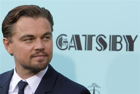 Actor Leonardo DiCaprio attends the 'The Great Gatsby' world premiere at Avery Fisher Hall at Lincoln Center for the Performing Arts in New York