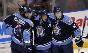 Weiss leads Panthers past Canadiens, 4-2