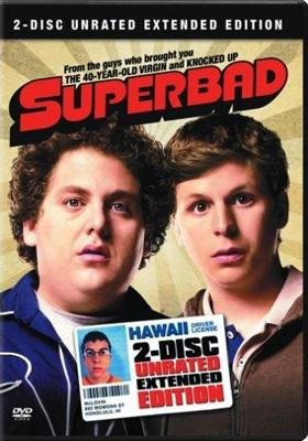 Box art for the 2-Disc Extended Edition DVD of Columbia Pictures' Superbad