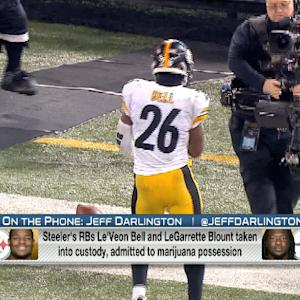 Potential punishments for Pittsburgh Steelers running backs Le'Veon Bell, LaGarrette Blount