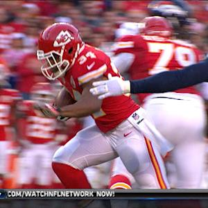 Kansas City Chiefs running back Knile Davis 20-yard run