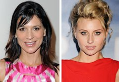 Perrey Reeves and Aly Michalka  | Photo Credits: Jordan Strauss/WireImage.com; Jeffrey Mayer/WireImage.com
