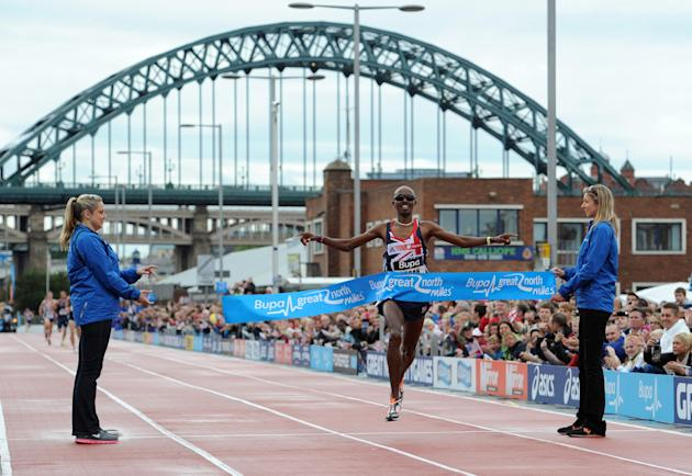 Athletics - Mo Farah File Photo