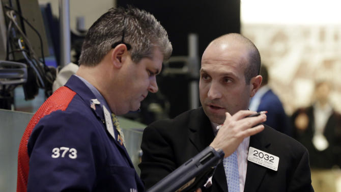 Stocks dip after manufacturing growth slows