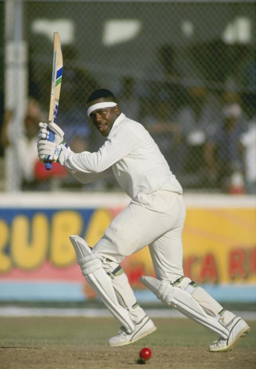 Desmond Haynes of the West Indies