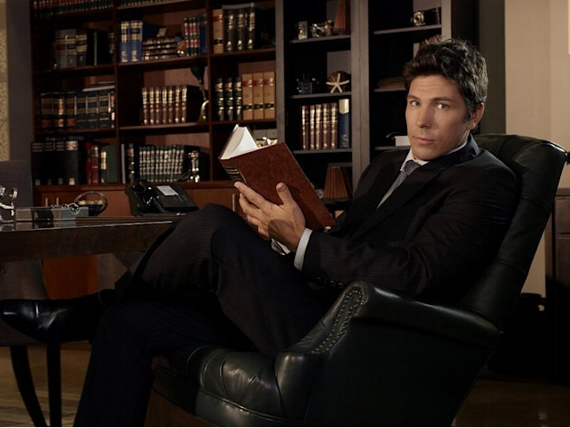 "Michael Trucco as Justin Patrick in ""Fairly Legal."""