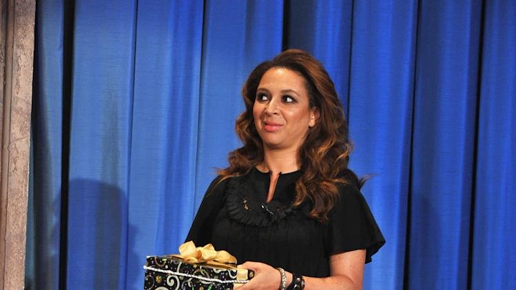 "Maya Rudolph & Elmo Visit ""Late Night With Jimmy Fallon"""