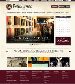 A Modern Face for a Classic Event: The Laguna Beach Festival of Arts / Pageant of the Masters Launches Its New Website, Now Live