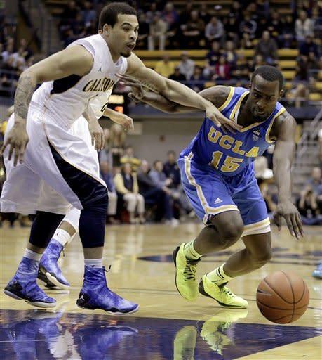 Big first half helps California past UCLA, 76-63