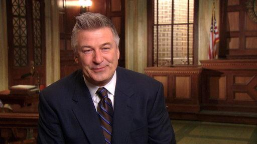Alec Baldwin Talks SVU