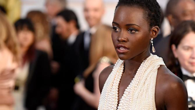 Stolen Oscar dress worn by Lupita Nyong'o located