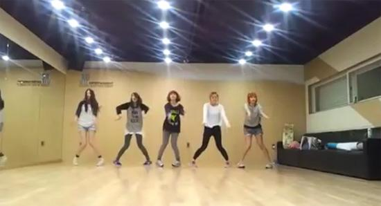 Wonder Girls Practices Hard for 'Like This'