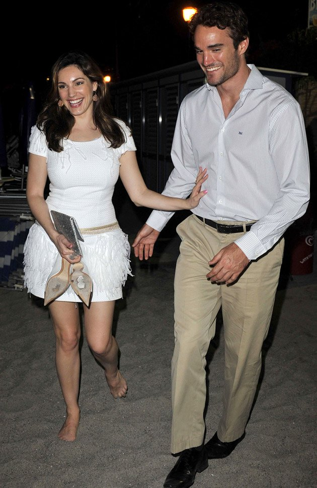 Kelly Brook, Thom Evans