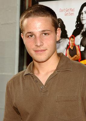 Shawn Pyfrom at the LA premiere of 20th Century Fox's John Tucker Must Die
