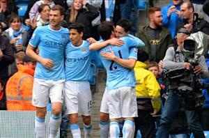 Manchester City 4-1 Southampton: Silva stars as hosts maintain title charge